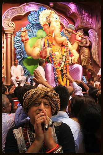 Lalbagh Chya Raja Gives Me A Second Chance Today ,,, by firoze shakir photographerno1