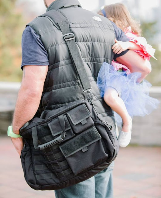 Down Range Baby - Manly Tactical Baby Gear For Dads | Guy Stuff | Pinterest