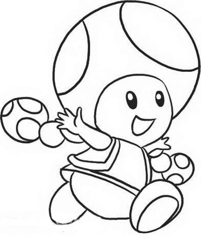 Toadette Coloring Page At Getdrawingscom Free For Personal Use