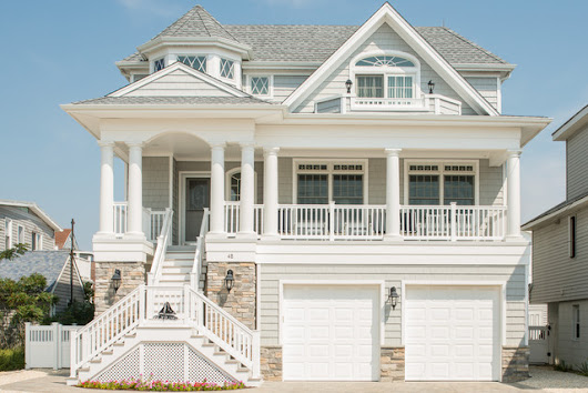 Beautiful Shore Home - Traditional - Exterior - New York - by PADULA BUILDERS INC