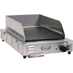 Cadco - CG5FB - Stainless Steel Countertop Space Saver Griddle - Medium Duty