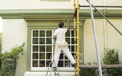 pintar fachadas