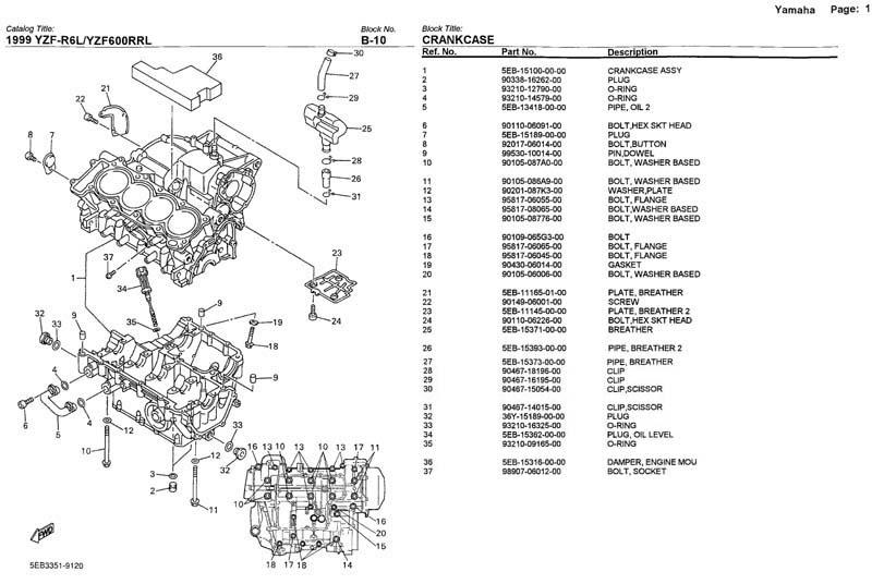 99 Yamaha R6 Fuse Box