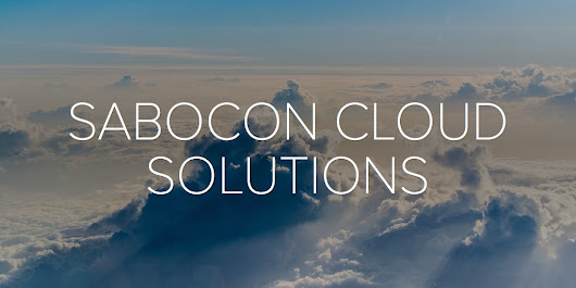 SABOCON CLOUD SOLUTIONS