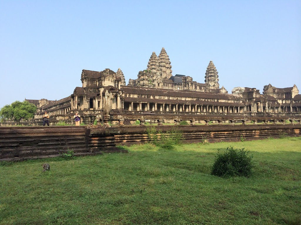 Angkor Wat Side View