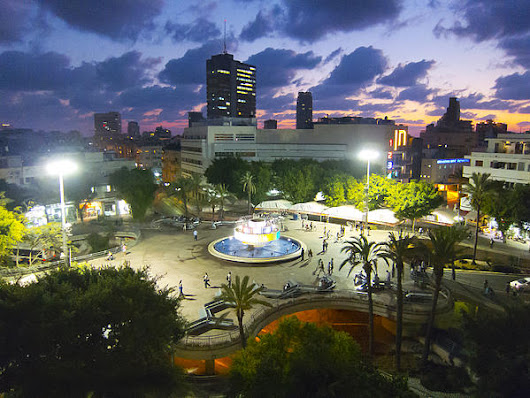 Dizengoff  Square Tel Aviv by Daniel Blatt - Dizengoff  Square Tel Aviv Photograph - Dizengoff  Square Tel Aviv Fine Art Prints and Posters for Sale