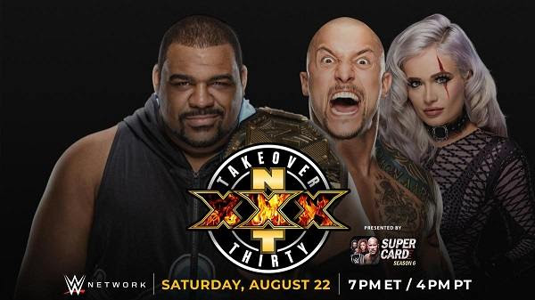 Watch WWE NxT TakeOver XXX 2020 Thirty PPV 8/22/20 Live 22nd August 2020 Full Show Free 8/22/2020