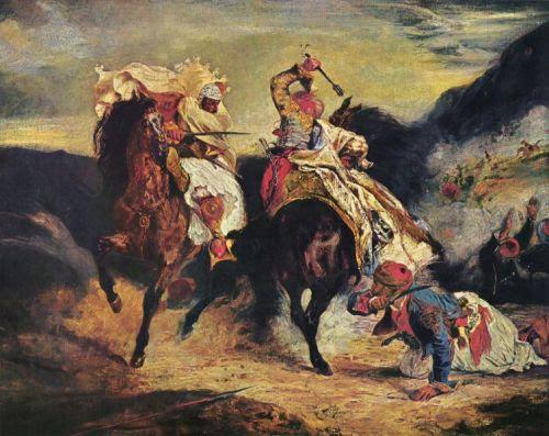 Μάχη Έλληνα και του πασά
