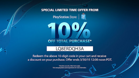 Get 10% off North American PlayStation Store This Weekend