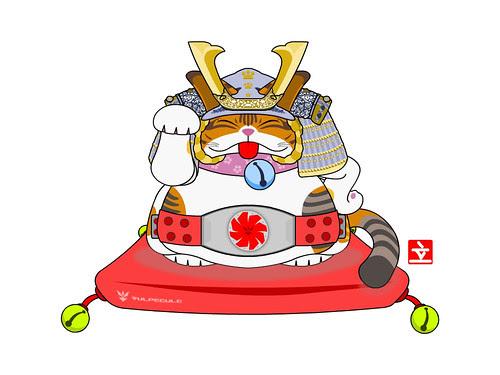 hyori - maneki neko by vulpecule.com