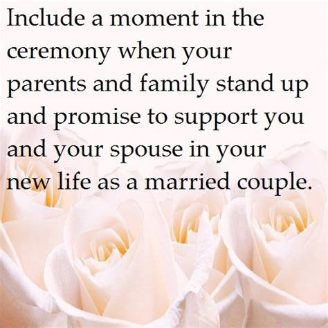Ceremony ideas   this can be especially written into your