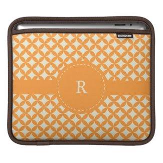 Modern Monogram iPad Sleeve rickshaw_sleeve