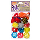 Hartz Just for Cats Cat Toys, Value Pack - 13 pieces