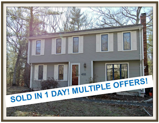 Two Houses Multiple Offers Sold in One Day Sharon MA
