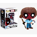 Funko Pop Marvel: Deadpool as Bob Ross Vinyl Bobble-Head #30865