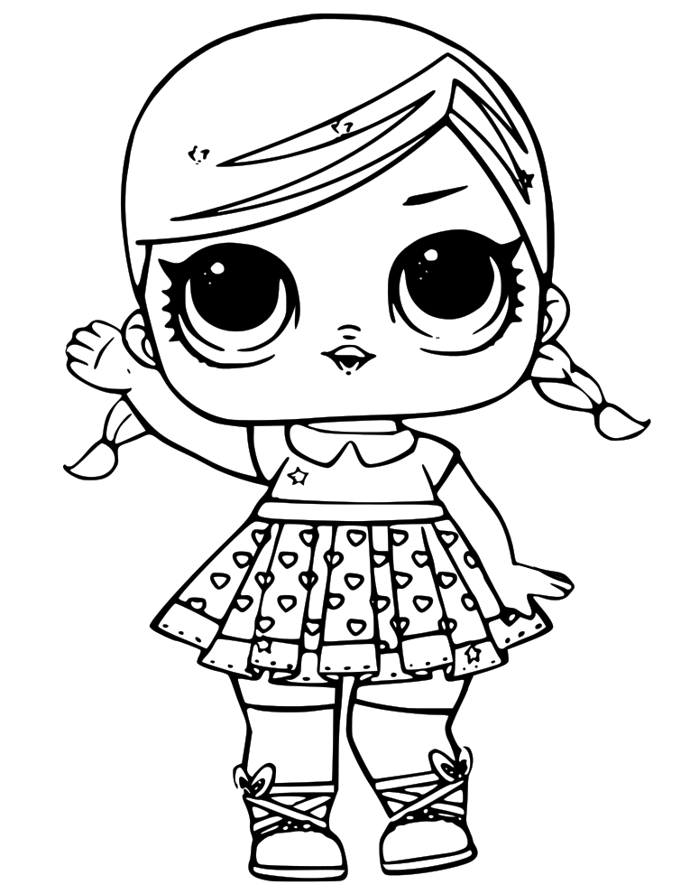 Lol Dolls Coloring Pages at GetColorings.com | Free ...