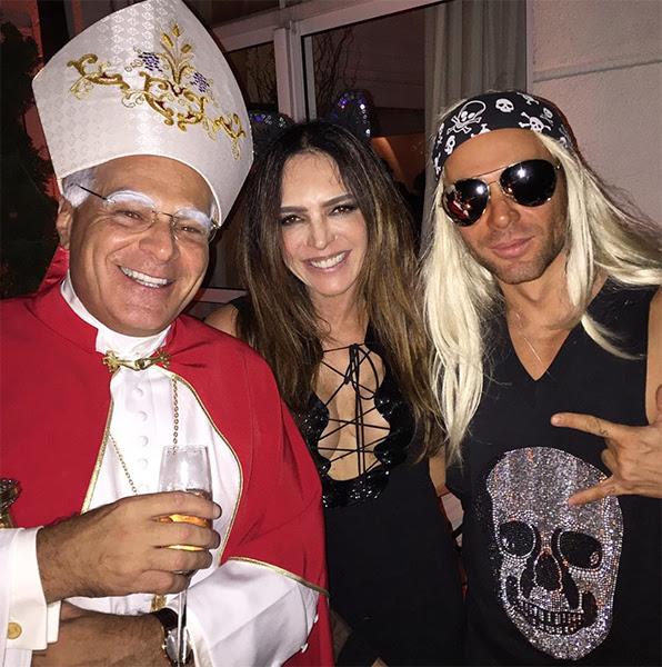 "Raquel Silveira: ""#GimenezBday @matmazzafera e Marcelo Carvalho"""