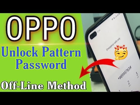 All Oppo Reset Password How to fix forgot lockscreen Password Any oppo device