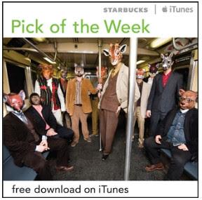 Starbucks iTunes Pick of the Week - 07/10/2012 - Antibalas - Dirty Money - Digital Download