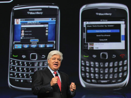 BlackBerry Ltd Co-Founders Lazaridis, Fregin Consider Takeover Bid