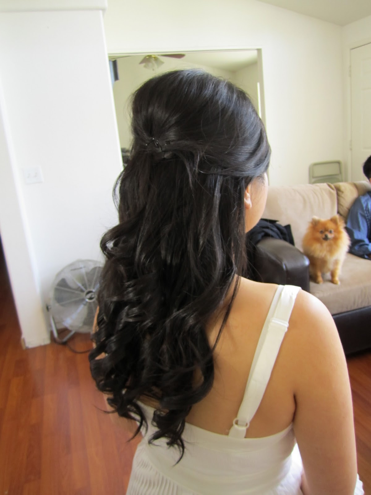 Long Hairstyle Half Up Best Haircuts