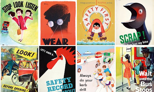 Posters from the last 100 years prove health and safety is NOT so new