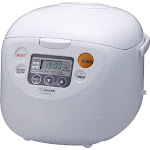 Zojirushi Micom 10-Cup Rice Cooker & Warmer - Cool White