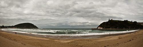 La playa de Ribadesella