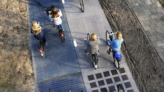 Unconsumption — One year after a bike path outside Amsterdam was...