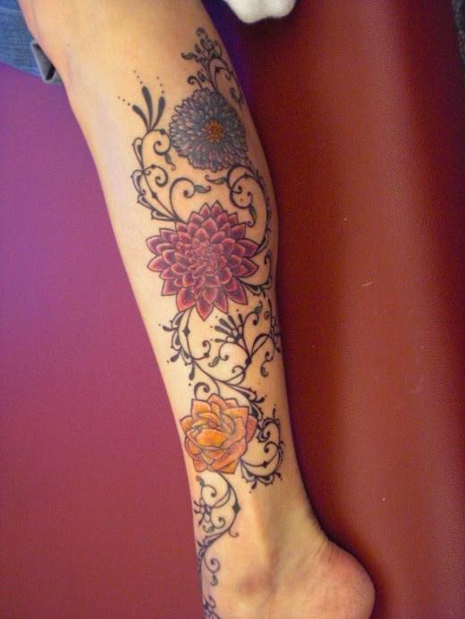 Lower Leg Tattoos Designs Tattoos Designs Ideas