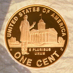 Lincoln in Illinois (2009 Proof Lincoln Cent)