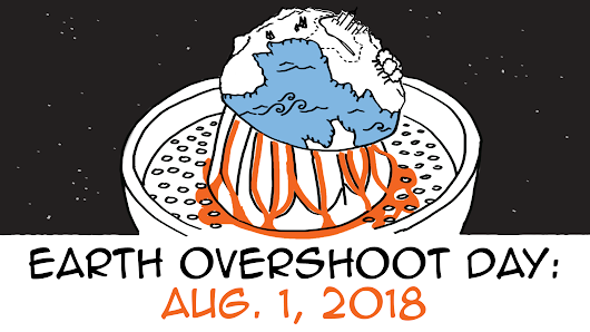 Earth Overshoot Day 2018 is Aug. 1st: we used our annual natural resources