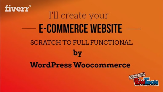 arirrobi : I will create ecommerce website by woocommerce for $30 on www.fiverr.com
