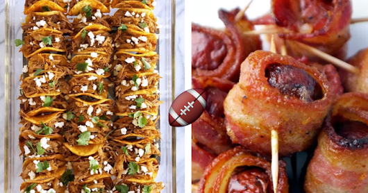 25 Bite-Size Party Foods For A Crave-Worthy Super Bowl Menu