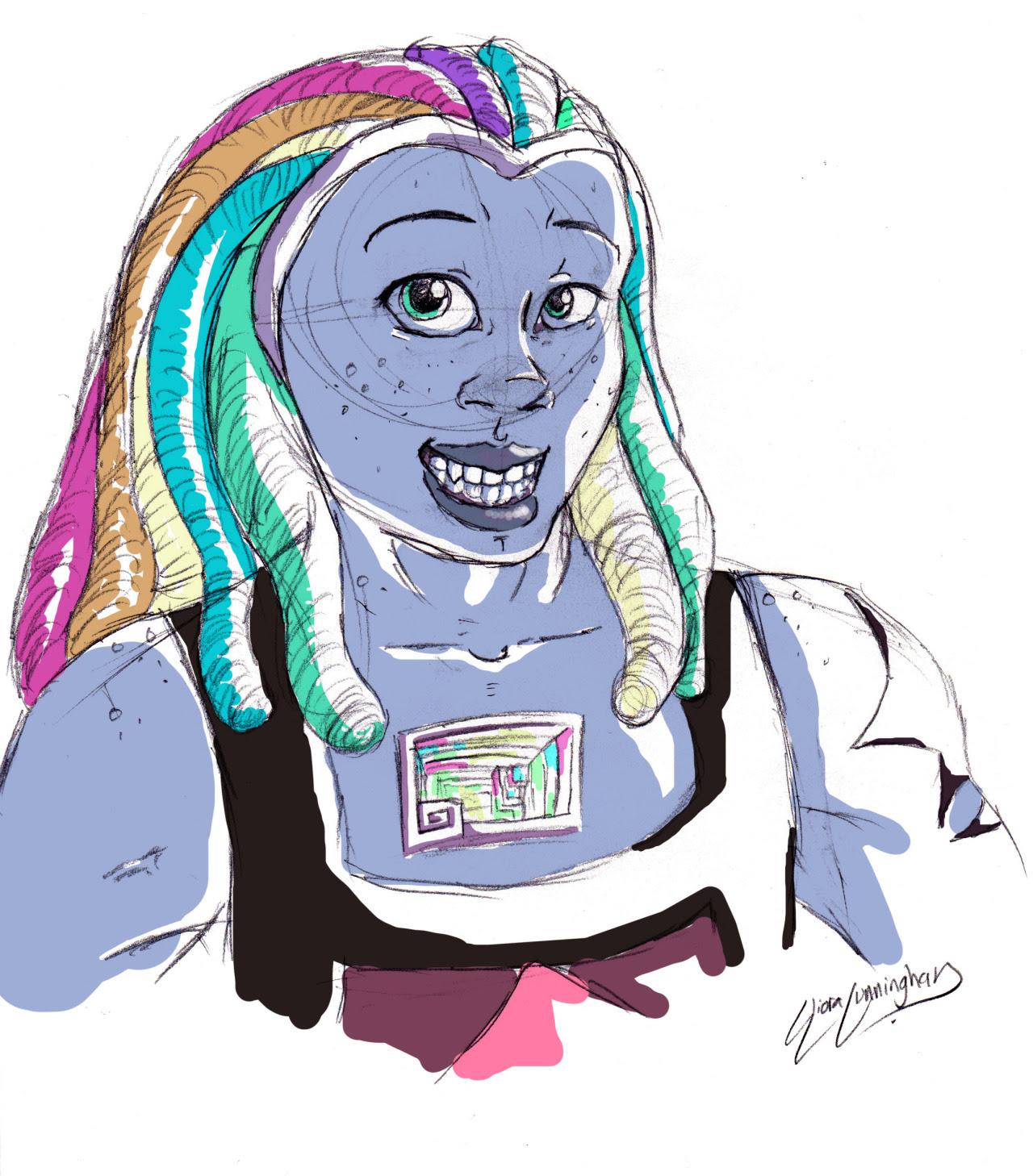 Bismuth Doodle