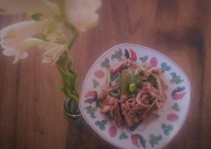 Resep Mudah Oseng Cumi Lombok Ijo Bikin Nagih