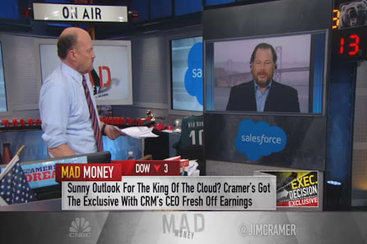 Salesforce CEO Benioff: Record numbers for a record quarter