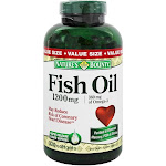 Nature's Bounty Fish Oil 1200 mg. 320 Softgels