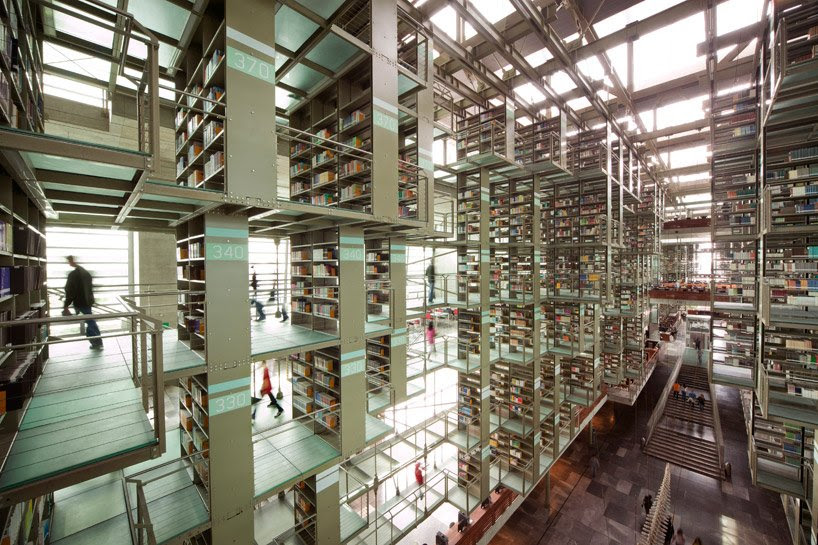 BIBLIOTECA vasconcelos pelo imposto de arquitectura | alberto kalach