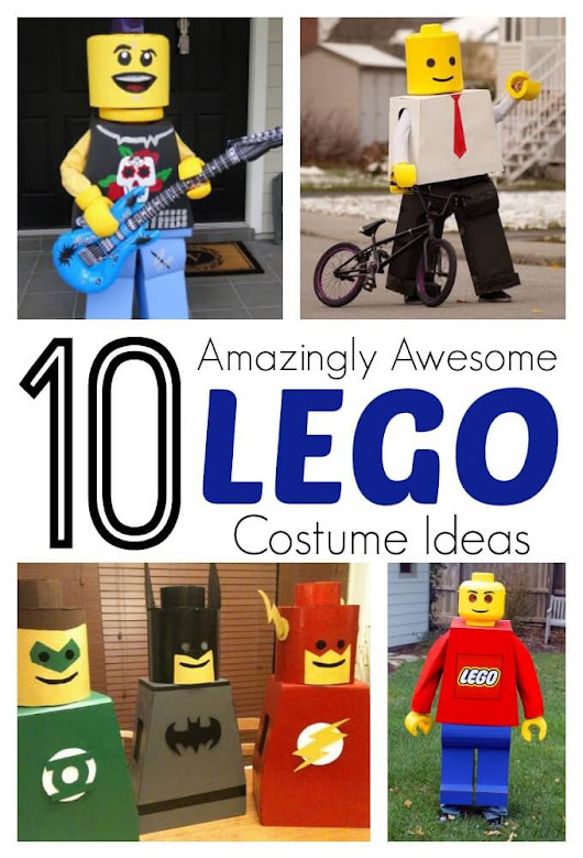 Amazing DIY Lego Costumes