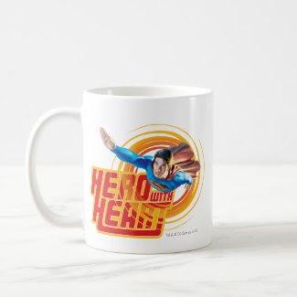 Superman Hero with Heart mug