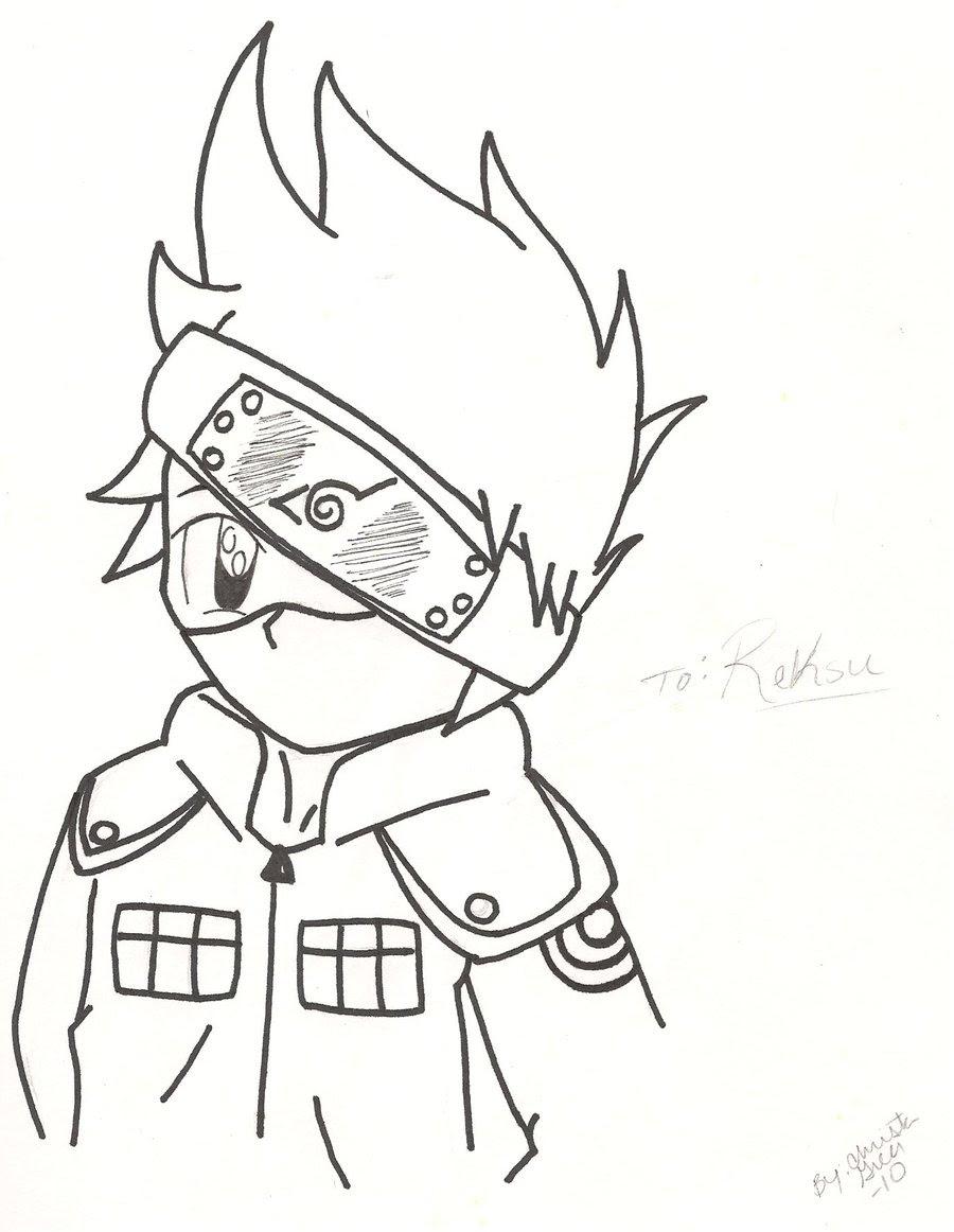 Ruokavalikko Anime Drawing Easy Naruto