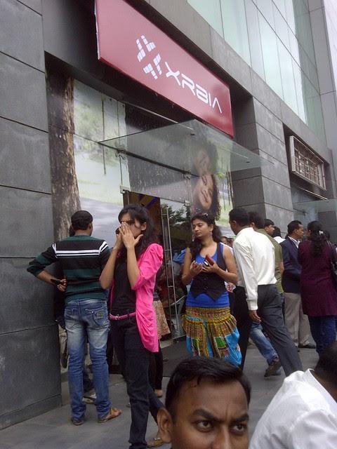 Pune real estate investors at XRBIA Booking Venue, temporarily rented showroom, ICC Trade Towers, Senapati Bapat Road, Pune 411016