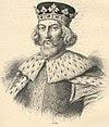 พระสาทิสลักษณ์ของสมเด็จพระเจ้าจอห์น จากหนังสือ Cassell's History of England - Century Edition - ตีพิมพ์ในราวปี พ.ศ. 2445