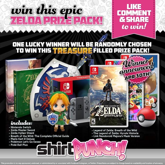Sorteio Nintendo switch e muito mais!