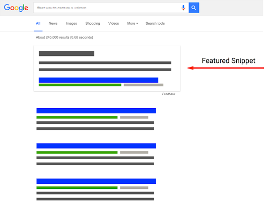 FEATURED SNIPPET DI GOOGLE: COME APPARIRE IN PRIMO PIANO – Agenzia Righetti