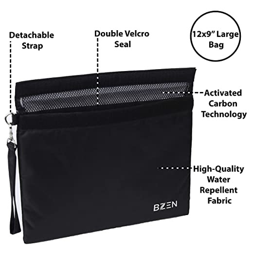 Review: Bzen Smell Proof Bag for Herbs & Spices 20 Reusable bags