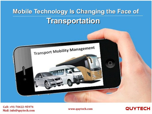 How mobile technology is changing the face of transportation