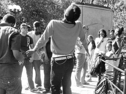 Dancer, Union Square