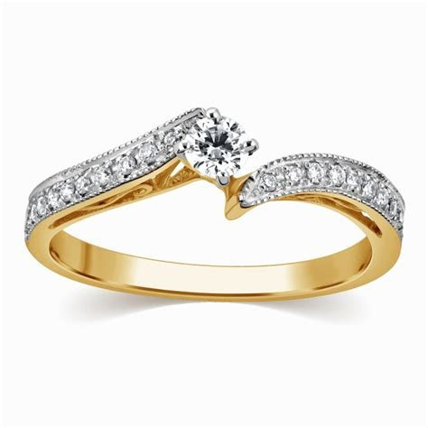 Splendid Cheap Engagement Ring 0.50 Carat Round Cut